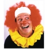 Clown Wig Bald Curly Red